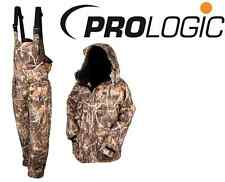 PROLOGIC MAX 4 CAMO COMFORT THERMO SUIT JACKET & TROUSERS WITH BIB AND BRACE