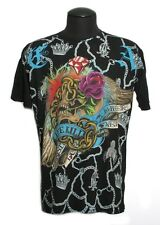 "Men's Christian Audigier Ed Hardy ""LIFE KILLS"" club T-Shirt XL-XXL"