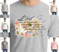 Religious Lord Help Me Jesus Christian 100% Cotton T-SHIRT W/free shipping