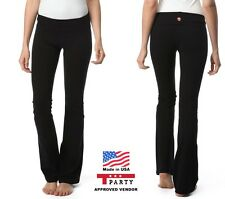 NEW T-Party Fold Over Yoga Pants Sizes XS S M L XL 2XL Slenderizing Fit
