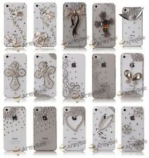 For Apple iPhone 4 4S 3D Bling Crystal Rhinestone Diamond Case Cover Design