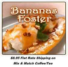 Bananas Foster Flavored Coffee-Jamaican Rum Walnuts and Bananas- Freshly Roasted