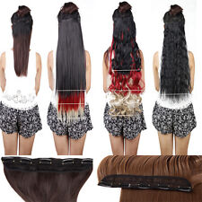 Half Full Head Clip In Hair Extensions New get long straight curly ideal style