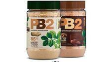 2X PB2 BELL PLANTATION NATURAL POWERED PEANUT BUTTER 184g 85% LESS CALORIES
