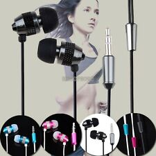 Super Bass Stereo In-Ear Earphone Headphone Headset 3.5mm plug For MP3 MP4