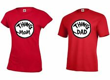 Thing Mom And Thing Dad Juniors Women / Adult Men'sT shirts S-XXXL