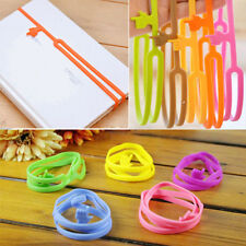 Silicone Funny Finger Pointing Bookmark Book Marker High lighter Office Supply