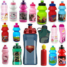 Disney & Kids TV Character School Lunch Sports Drinks Water Bottle