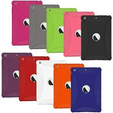 AMZER SILICONE SOFT SKIN CASE BACK COVER FOR APPLE iPAD MINI WITH RETINA DISPLAY