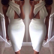 Women Sexy Fashion Club Bandage Bodycon Jumpsuits Cocktail Party Clubwear