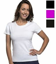 SOL'S Ladies Fit Miami Stretch T-Shirt Womens Crew Neck Plain Short Sleeve Top