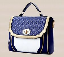 Korean version of the new female bag ladies handbag Messenger bag lozenge