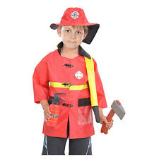 Children's Halloween Party cosplay Firefighter costume high quality kids gift