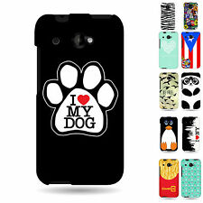 Hard Cover Rubber Design Protector New Cases  for HTC Desire 601