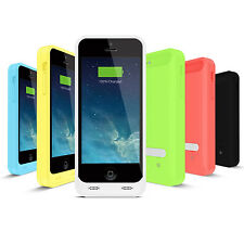 iFans® Apple MFi Portable Battery Charger Case For iPhone 5c Fully Charge iOS7+