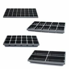 Jewelry Box Display Case Organizer Liner Tray (4 Compartment Sizes) Tray Only
