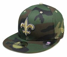 NFL® New Era® New Orleans Saints 59Fifty™ Camo Pop Redux Fitted Hat Size