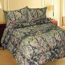 Woods Camo Comforter & 6 Pc Sheet Set, 4 Sizes, Bed in Bag, Free Shipping!!!