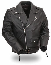 Classic kid's motorcycle jacket for boys and girls.  FMC001SGP free gloves