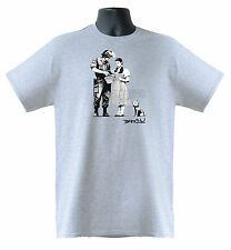 Banksy Dorothy From Oz Wizard Stop And Search Mens Ladies T-Shirts S-XXL Sizes