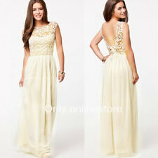 █ █Womens Sexy Chiffon Evening Formal Party Ball Gown Prom Bridesmaid Long Dress