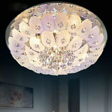 Modern Phoenix Crystal Ceiling Fixture Lamps Chandelier LED Lighting Light