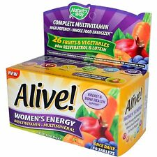 Nature's Way Alive! Women's Energy Multivitamin Once Daily - 50 Tablets (#1952)