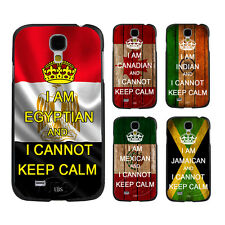 Cannot Keep Calm National Flags Style On Hard Case For Samsung Galaxy S3 S4 S5
