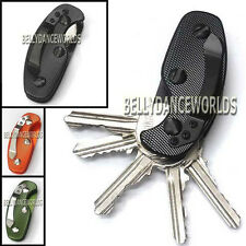 ALUMINUM KEY HOLDER CLIP KEYS FOLDER MEN KEYCHAIN KEY CHAIN CASE EDC POCKET TOOL