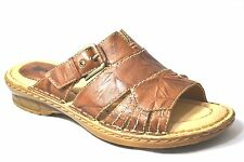 Earth Willow Alpaca Leather Womens Slide Sandals