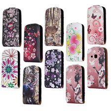 Butterfly Flower Skull Deer Leather Case Cover For Samsung Galaxy mini 2 S6500