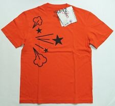 UNIQLO MEN SPRZ NY MoMA SPECIAL EDITION Ryan McGinness T SHIRT ORANGE (129163)
