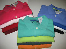 Nautica Mens SLIM FIT Solid Pique Cotton Polo Shirt ~short sleeve~ New with Tags
