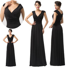HOT SALE Women's Viscose Bridesmaid Prom Ball Evening Gown Cocktail Party Dress