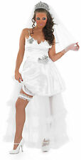 Gypsy Wedding Bride Fancy Dress Costume 3239