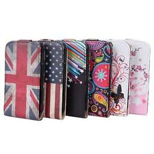 Vertical Flip Case Cover Pouch PU leather Case For Samsung Galaxy S Duos S7562