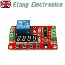24V/ 12V/ 5V Relay Module Cycle Timer PLC Home Automation Delay Multifunction