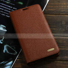Genuine Real Leather Stand Cases for LG G3 Flip Cover AT&T Sprint T-Mobile Gift