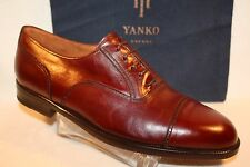 Men's New GENUINE LEATHER Shoes *Hand-Crafted in Spain* by YANKO Retail $299.99