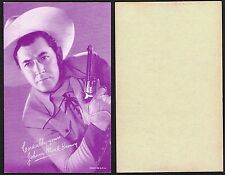 USA: Cowboy Film Star 'Arcade' Cards 1950s Movie Postcard Size Cards £0.99 SALE!