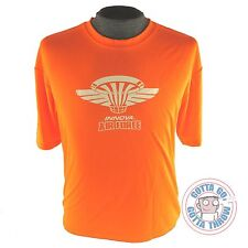 Innova AIR FORCE Rapid-Dry Short Sleeve Disc Golf T-Shirt ORANGE MANY SIZES
