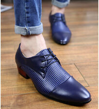 Fashion Men Pointed Toe Lace Up Leisure British Style Boy Dress Formal Shoes NEW