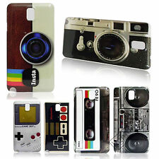Deluxe Cute Hot Retro Stlye Glossy Hard Back Skin Case Cover For Samsung Galaxy
