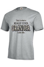 This is what the world's greatest Grandpa looks like T shirt S- XXXL
