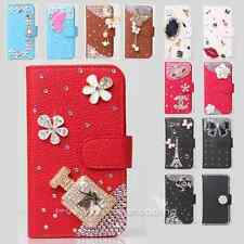 Color Bling Diamond Wallet Leather Flip Case Cover for Various SAMSUNG Phone