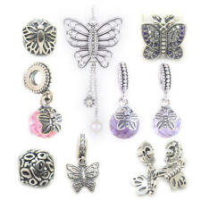 Friends Forever Lacewing Butterfly Clip,Morning Butterfly Garden silver charms