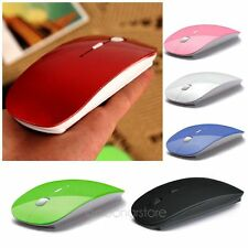 Mince Souris Sans Fil Optical Wireless Mouse Mice 2.4GHZ USB Receiver For Laptop