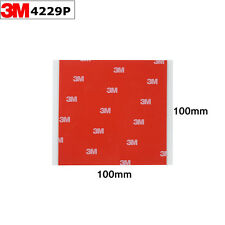 3M 4229P 10cmx10cm Acrylic Foam Double Sided Tape Strong Adhesive Sheets