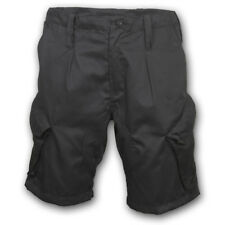 BRITISH ARMY STYLE PCS ACU RIPSTOP BLACK SHORTS COMBAT ISSUE CAMO AIRSOFT