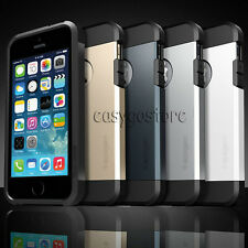 Shockproof Dirt Dust Proof Hard Armor Gel Case Cover For Apple iPhone 4S 4